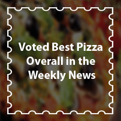Voted Best Pizza Overall